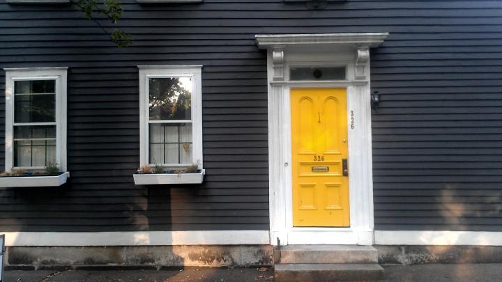 yellow-door